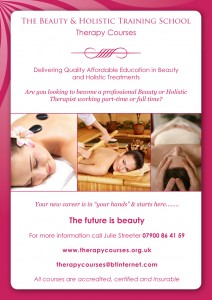 50% off...VTCT Diploma in Beauty Therapy Studies @ Therapy Courses Training School    Alderbury   England   United Kingdom