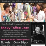 Summer Ladies' Shopping & Luxury Pamper Night - 4th July, Amesbury