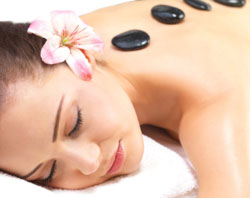 Hot stone massage and Bamboo massage